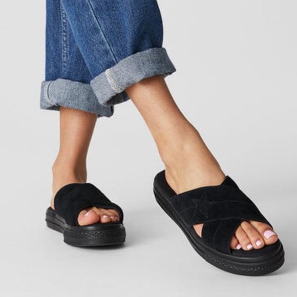 Converse One Star Platform Sandals